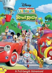 MICKEY MOUSE CLUBHOUSE ROAD RALLY New Sealed DVD
