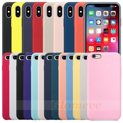 ont-le-logo-dorigine-silicone-cas-pour-iphone-7-8-telephone-cas-pour-iphone-x-xr-xs-max-couverture-officielle-pour-iphone-6-6-s-plus-5-5s-capa preview